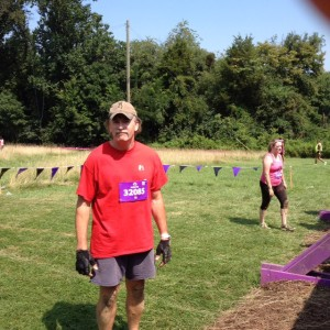 Ken before wall climb at The Mudderella